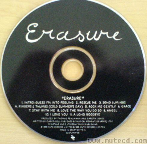 Erasure Discography